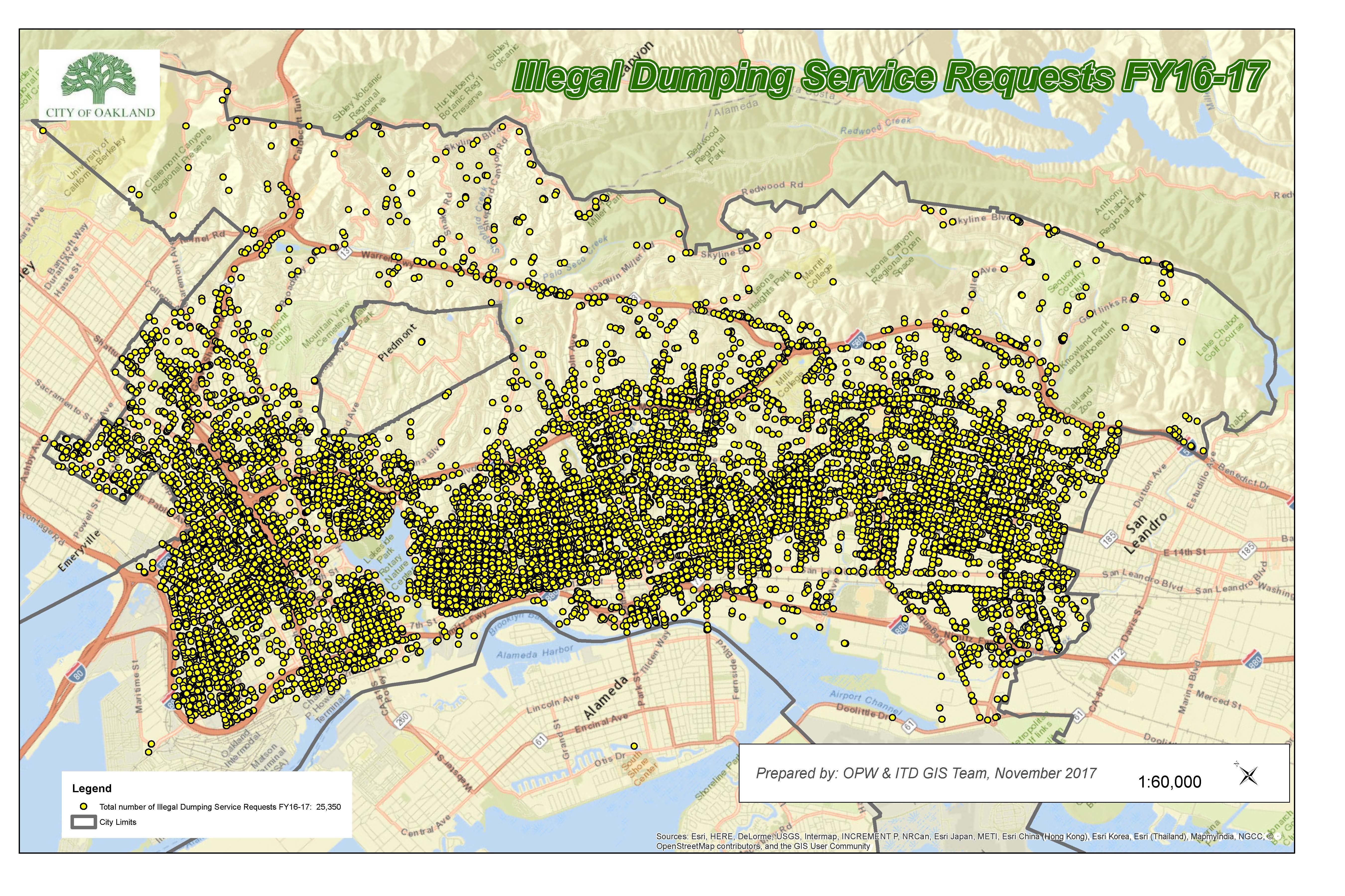 JPEG Illegal Dumping Map