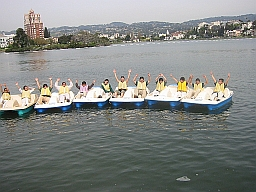 Photo of a Peddle Boat Group