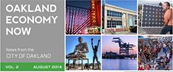 Oakland Economy Now August 2014 Masthead