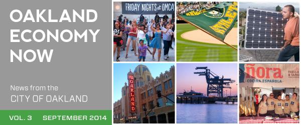 Oakland Economy Now September Masthead