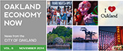 Oakland Economy Now November 2014 Masthead