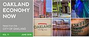 Oakland Economy Now newsletter June 2015 Masthead