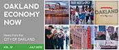 Oakland Economy Now newsletter July 2015 Masthead