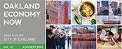 Oakland Economy Now newsletter August/September 2015 Masthead