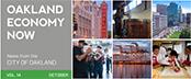 Oakland Economy Now newsletter October 2015 Masthead