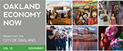 Oakland Economy Now newsletter November 2015 Masthead