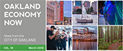 Oakland Economy Now newsletter March 2016 Masthead
