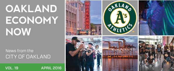 image of Oakland Economy Now - April 2016 Masthead
