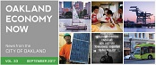 image of Oakland Economy Now - September 2017 Masthead